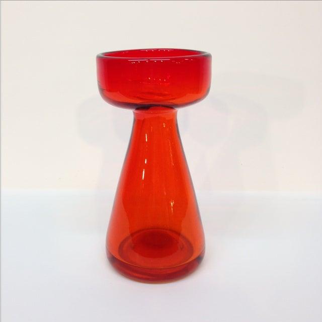 Danish-Style Glass Candle Pillar - Image 2 of 3