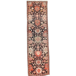 Russian Karabakh Hand-Knotted Rug - 3′6″ × 12′10″