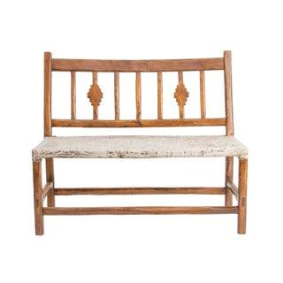 "Wood & Rawhide ""Pampa"" Bench"