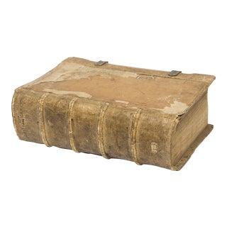 17th Century Vellum Book