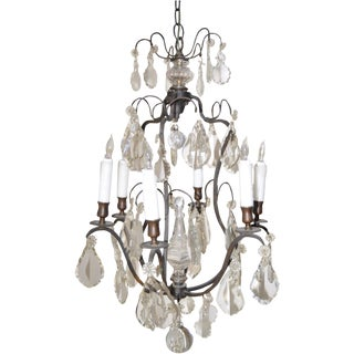 French Birdcage Chandelier C.1900