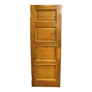 Four Panel Oak & Cypress Door