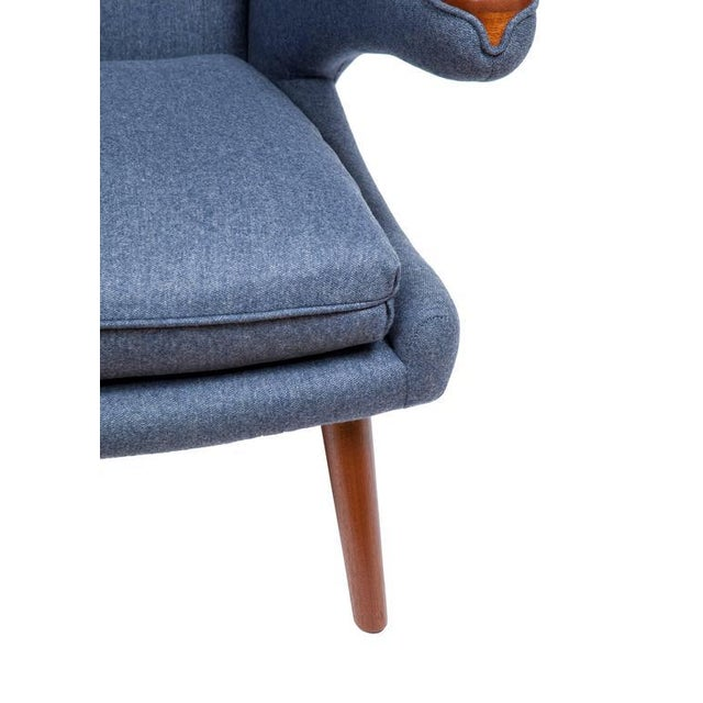 Pavel Wingback Armchair - Image 5 of 6