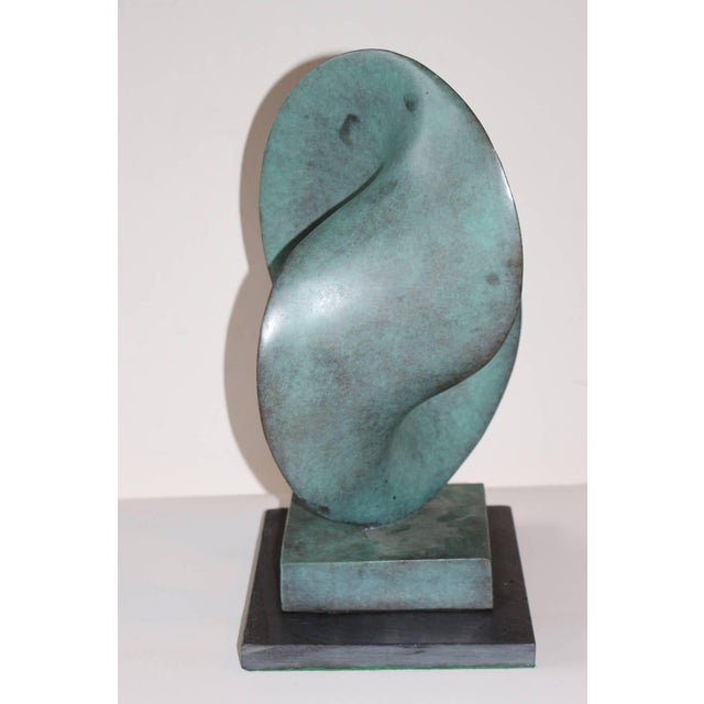 Image of Fred Schumm Bronze Noted NJ Artist Signed, Dated 1989