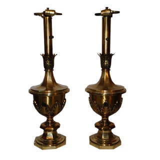 Stiffel Hollywood Regency Table Lamps - A Pair