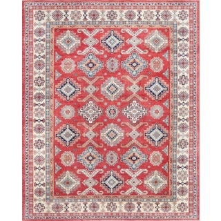 "Pasargad's Kazak Hand Knotted Wool Rug - 12'3"" X 15'5"""