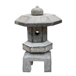 Chinese Octagon Stone Garden Lantern