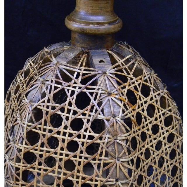 Vintage Italian Pedestal Hand Caned Flower Urn - Image 5 of 10