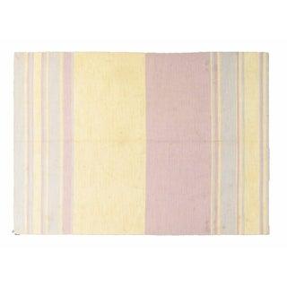 Apadana - Multi-color Striped Dhurrie - 8' x 11'