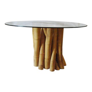 Baker Bamboo Clustered Table