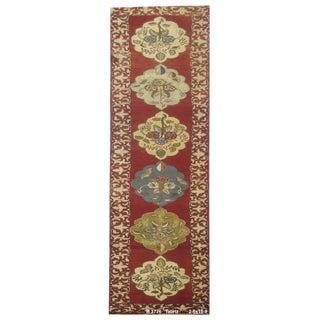 Vintage Persian Tabriz Rug - 2'6''x15'9''