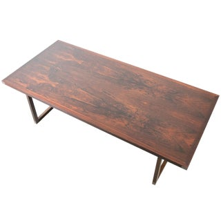 Rosewood Coffee Table by Rud Thygesen for Heltborg Møbler