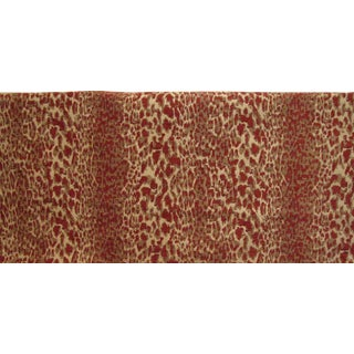 Kravet Lee Jofa Epingle Velvet Leopard Fabric - 4 Yards
