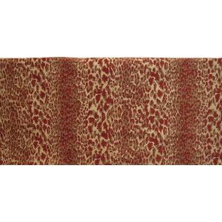 Kravet Lee Jofa Epingle Velvet Leopard Fabric - 4 Yards