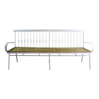 Vintage Traditional Style Iron Bench
