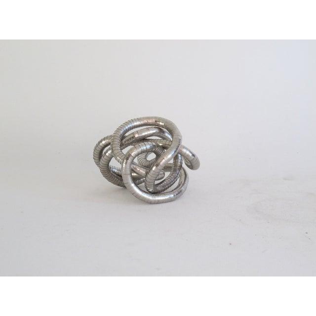 Silver Knot Objet - Image 4 of 4