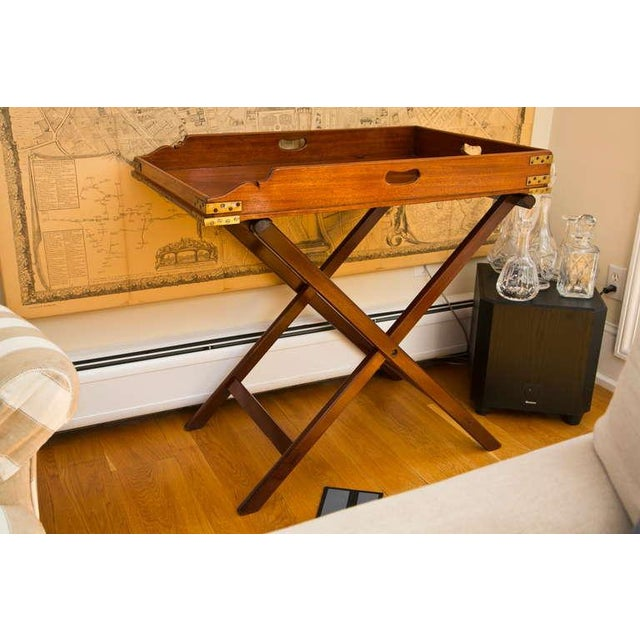 Antique Butler's Tray Table - Image 3 of 10