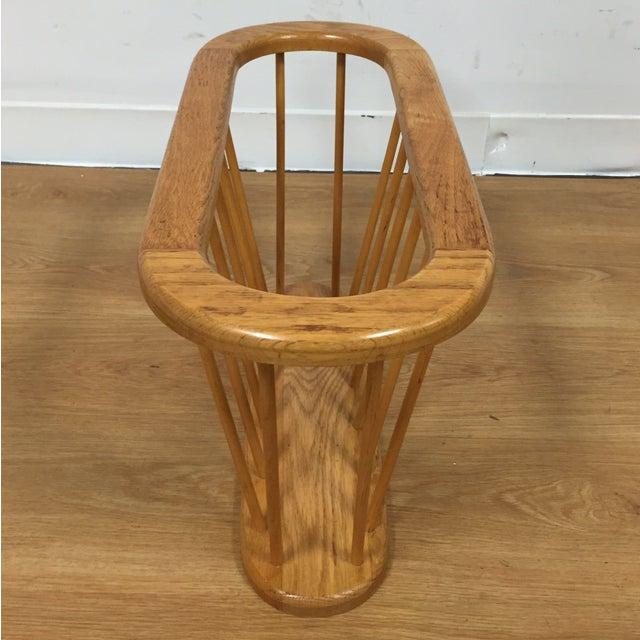 Image of Arthur Umanoff Style Spindled Magazine Rack
