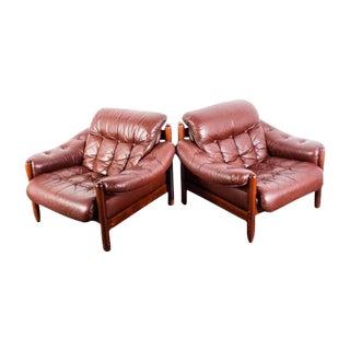 Göte Möbler Swedish Lounge Chairs - A Pair