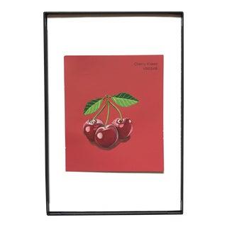 """Cherry Kisses"" Acrylic Painting"