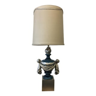 Mid-Century Modern Glazed Ceramic Lamp