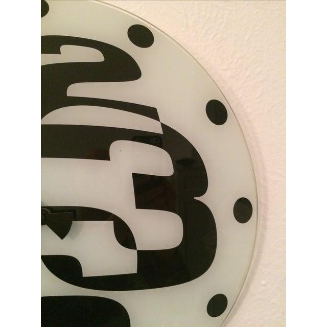 Pop Art Mod Pod Wall Clock - Image 7 of 11