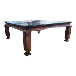 Square Pen Shell Coffee Table