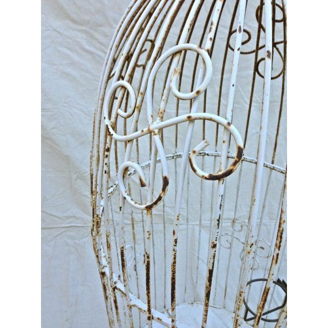 Vintage Garden Bird Cage - Image 4 of 4