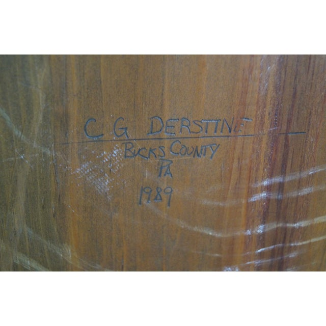 CG Derstine Bucks County Hand Crafted Pine Cabinet - Image 10 of 10