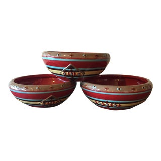 Pendleton Home Collection Cereal Bowls - Set of 3