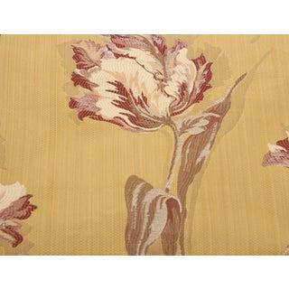 Scalamandré Rose Brocade Fabric - 1 Yard