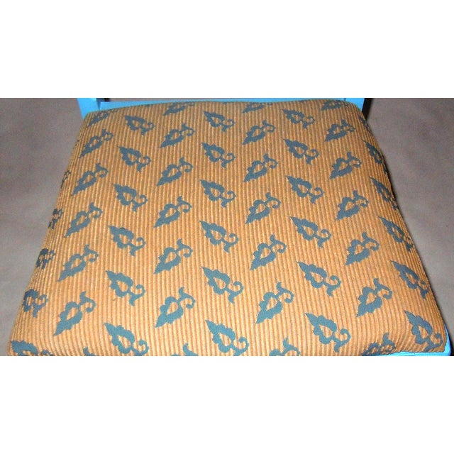 Blue Mid-Century Accent Chair - Image 8 of 8