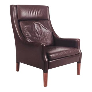 Vintage Danish Leather Armchair