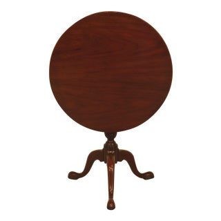 Kittinger Historic Newport Mahogany Tilt Top Table