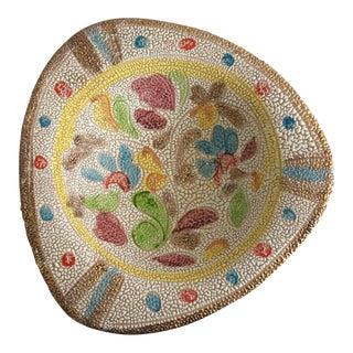 Textured Enamel Italian Bowl