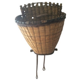 French Grape Harvest Basket