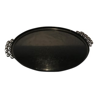 Marie Glaze Black Tray