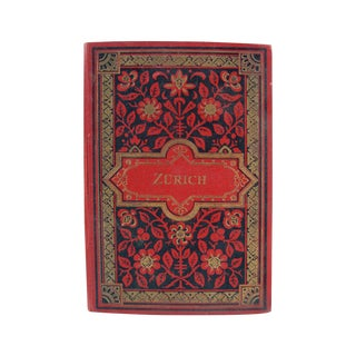 Zurich Switzerland Photo Book, 1896
