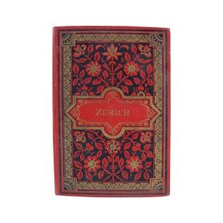 Zurich Switzerland Photo Book, 1896