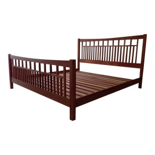Vermont Furniture Designs King Size Slatted Wood Bed Frame