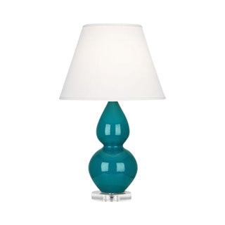Robert Abbey Double Gourd Peacock Lamp