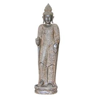 Standing Batik Robe Buddha Statue