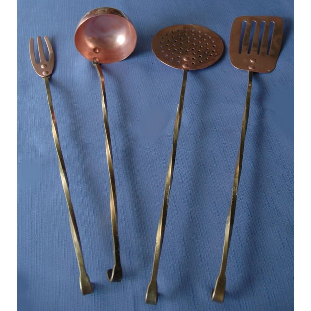 Decorative Copper Cookware Collection - 21 Pieces - Image 3 of 10