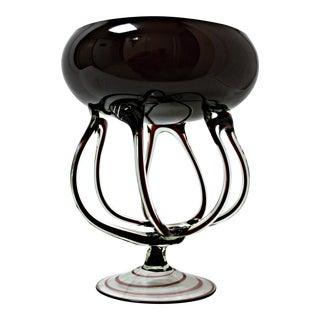 Anemone Polish Blown Glass Centerpiece