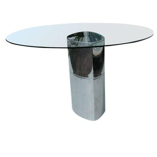 Designer Cini Boeri Mid-Century Modern Lunario Table