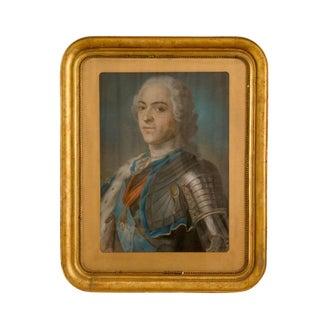 Pastel Portrait of Louis XV