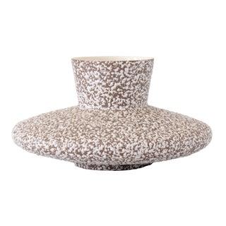Royal Haeger Flying Saucer Popcorn Glaze Vase