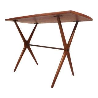 Mid-Century Modern Teak End Table