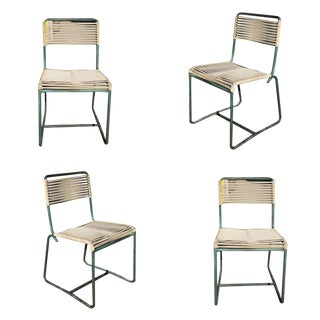 Walter Lamb for Brown Jordan Outdoor/Patio Bronze Side Chair, Set of Arms