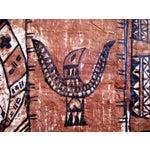 Image of Monumental Tapa Cloth Panels - A Pair